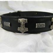 Hundehalsband Black Thor