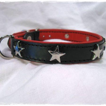 Hundehalsband Pink Star