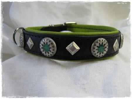 Hundehalsband Green Star