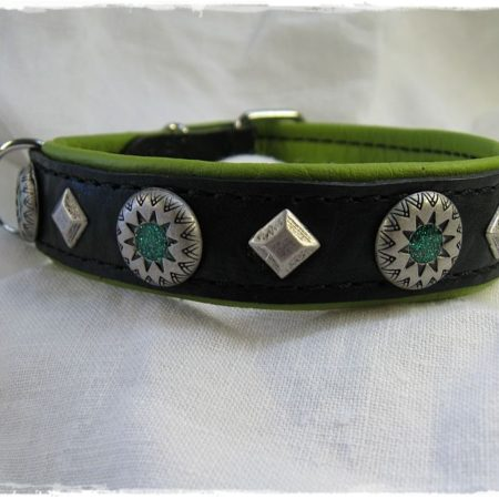 Hundehalsband Green Star