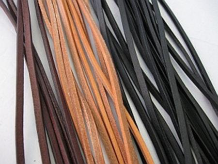 Lederbänder 2 Meter lang