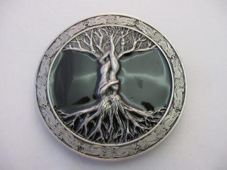 Buckle/Gürtelschnalle Keltischer Lebensbaum