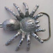 Buckle/Gürtelschnalle Spider