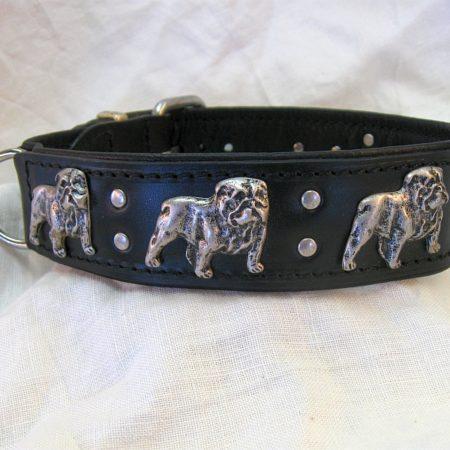 Hundehalsband Black Bulldog