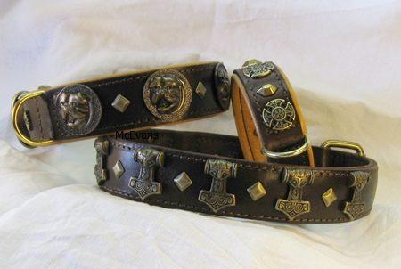 Leder Hundehalsbänder und Handgemachte Hundeleinen